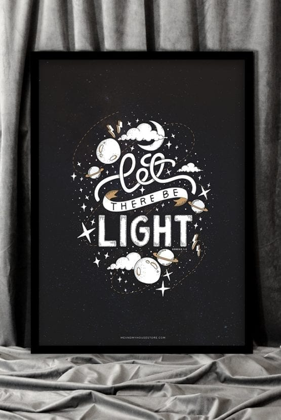 Poster: Let there be light