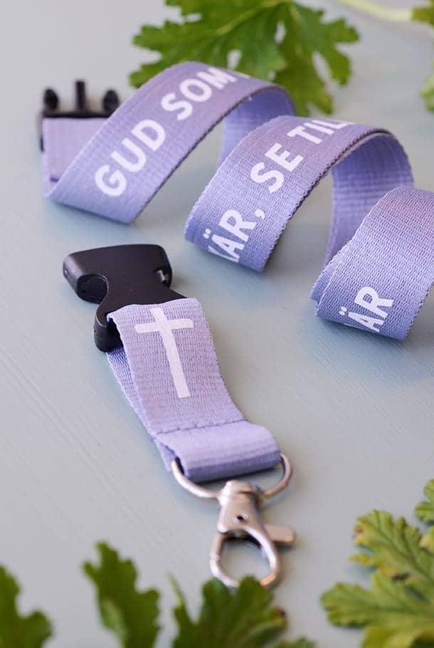 Nyckelband: Gud som haver barnen kär