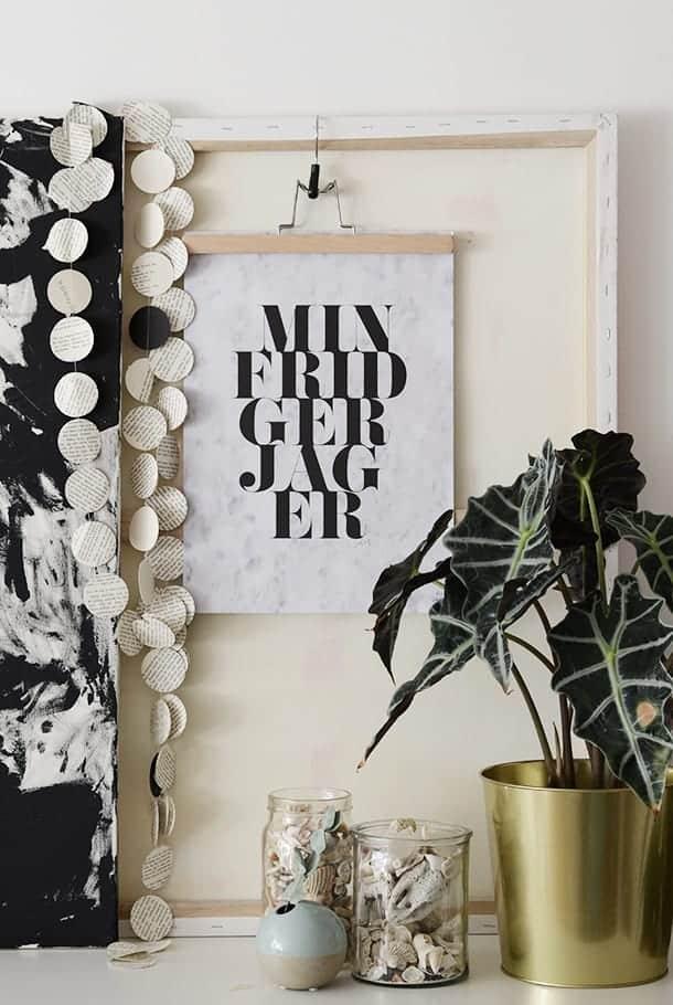 Poster: Min frid ger jag er