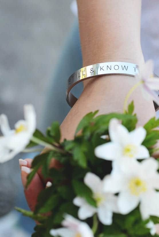 Bracelet: Be still and know that He is God