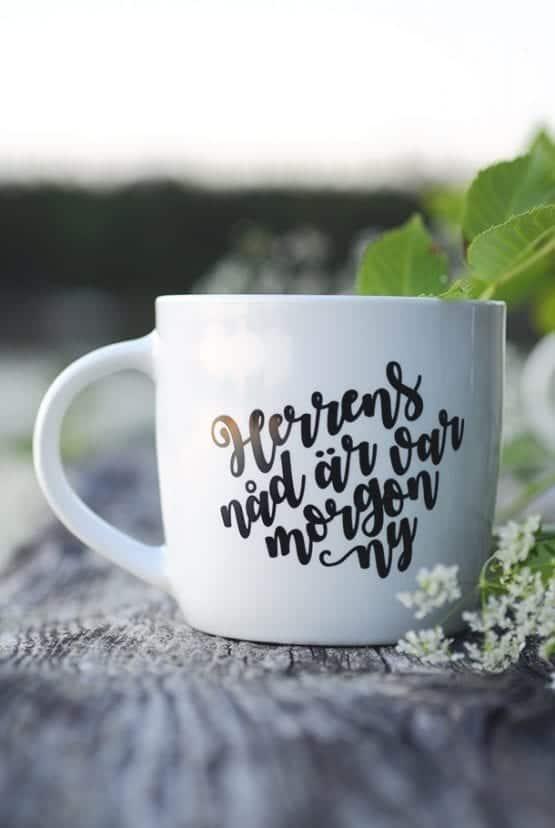 Herrens nåd är var morgon ny