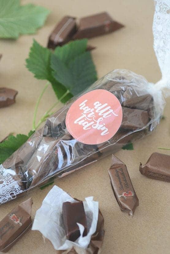 Chokladkola: Allt har sin tid