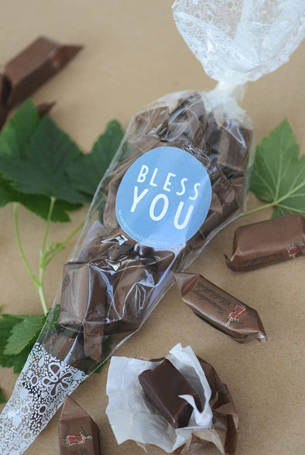 Chokladkola: Bless you