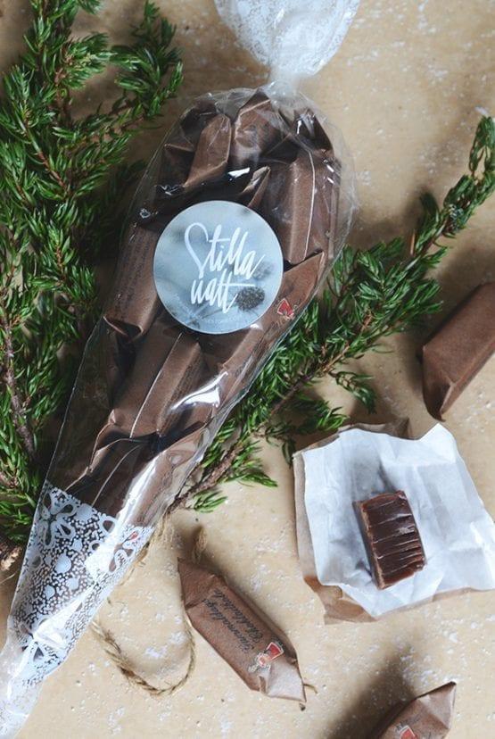 Strut med chokladkola: Stilla natt
