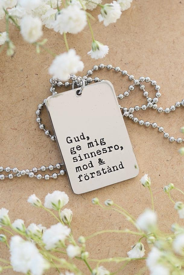 Stålhalsband: Gud, ge mig sinnesro