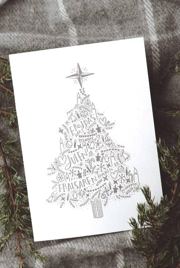 Fröjdas vart sinne, julen är inne