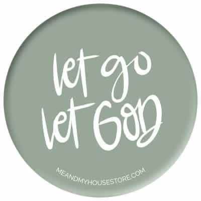 Knapp: Let go, let God