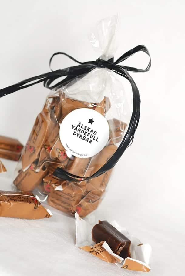 Gammaldags chokladkola: Älskad, värdefull, dyrbar