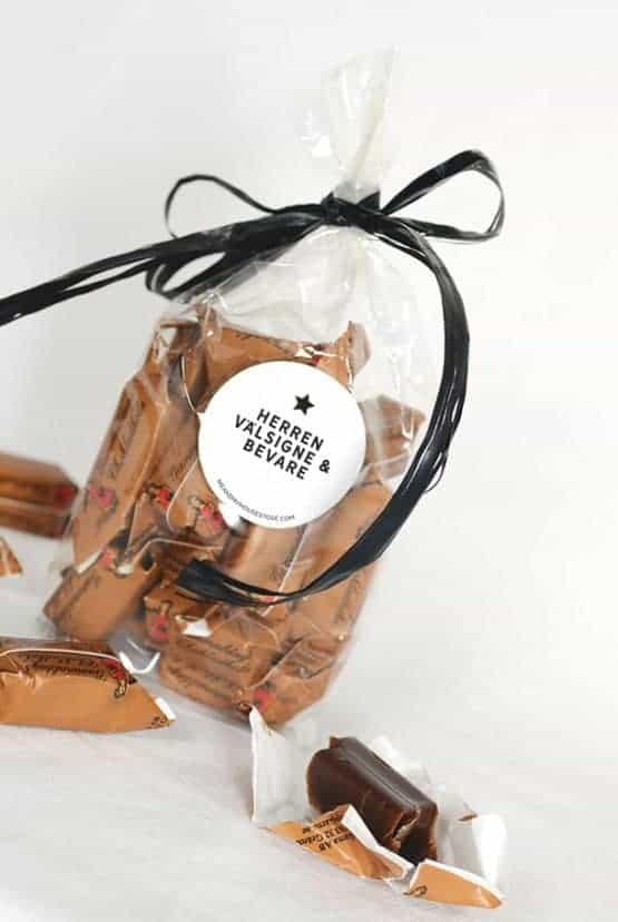 Chokladkola: Herren välsigne och bevare