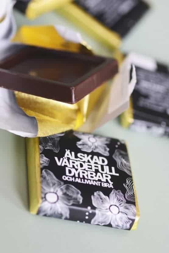 Chokladruta: Älskad, värdefull, dyrbar och allmänt bra