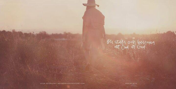 Bli stilla och besinna