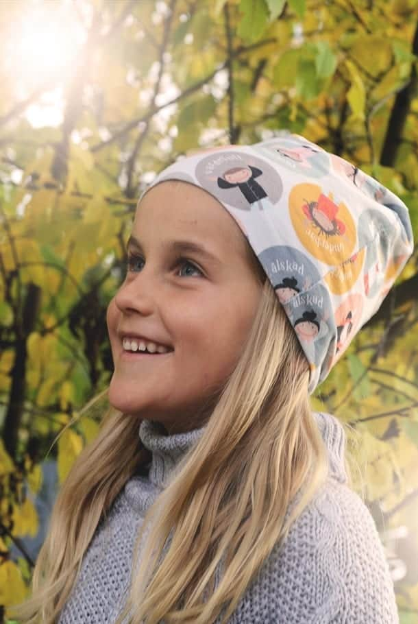 Ekologisk mössa: Älskade unge!