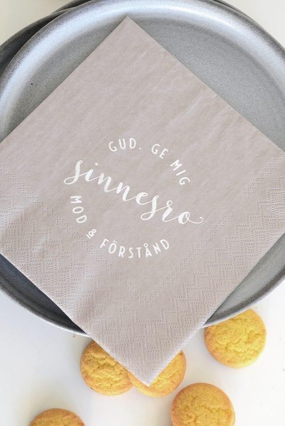 Servett: Gud ge mig sinnesro