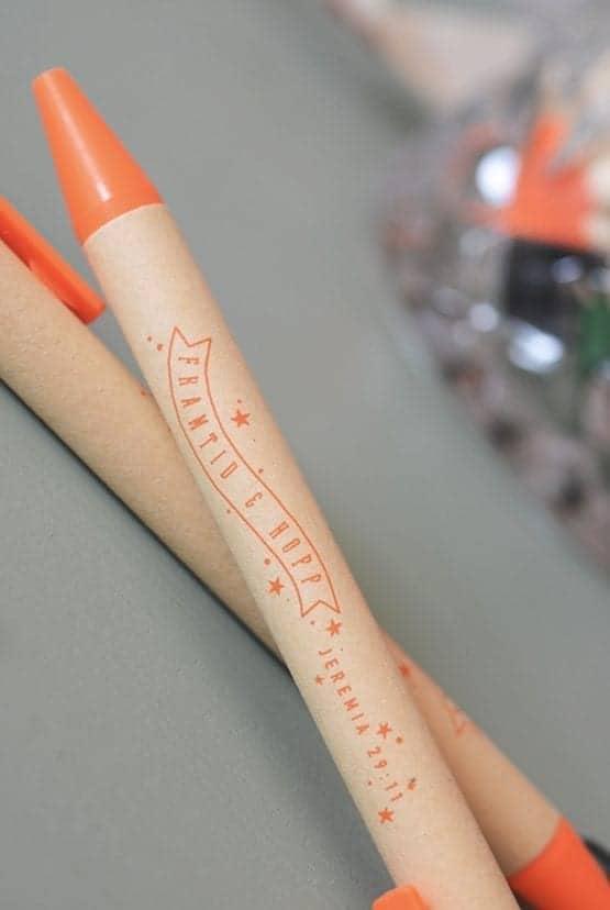 Orange eko-penna: Framtid och hopp