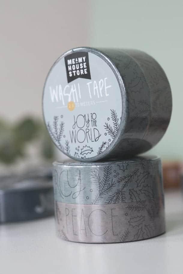 Washitape i 2-pack: Joy to the World