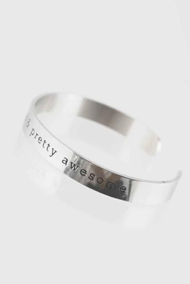 Stålarmband: Beloved, precious & pretty awesome