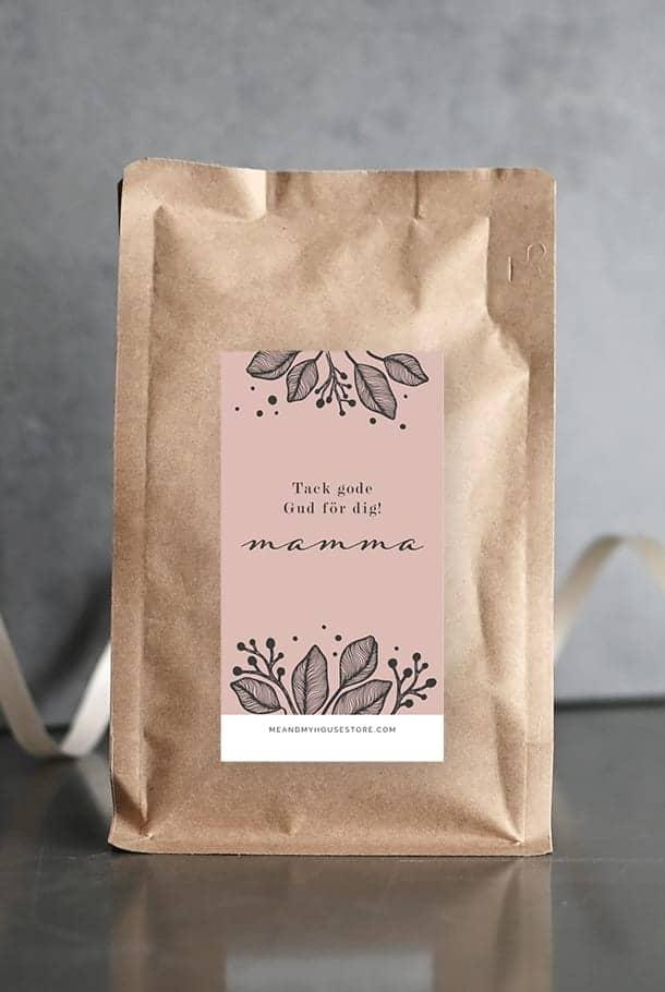 Specialkaffe: Tack gode Gud för dig, mamma
