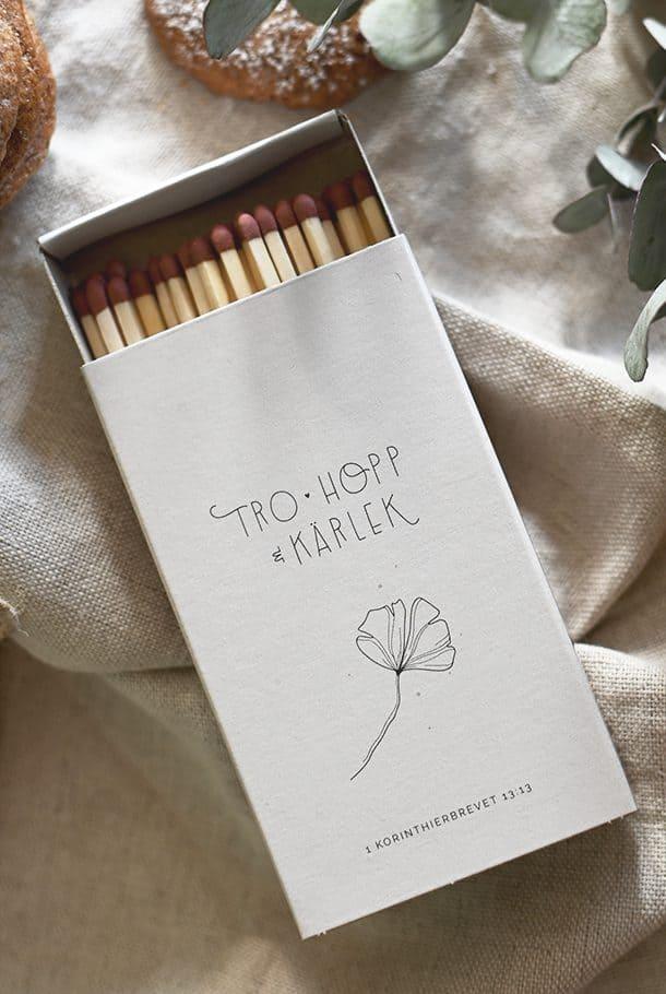 Stor tändsticksask: Tro, hopp & kärlek